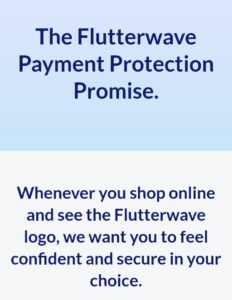 Flutterwave store, payment policy, customer